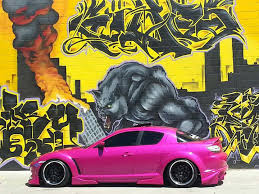lina rodriguez takes her high performance mazda rx 8 to car shows