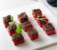 cuisine steak bite sized pepper steaks bento com