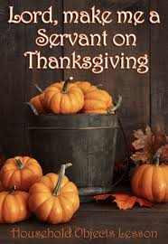 in this thanksgiving object lesson we tell the story of sylvia