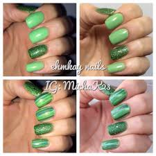 ehmkay nails easy st patrick u0027s day nail art with red dog designs