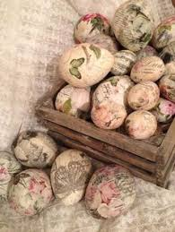Decorating Easter Eggs Decoupage upcycle plastic easter eggs into these stunning decoupage