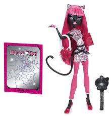 amazon com monster high new scaremester catty noir doll toys