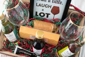 raffle basket ideas for adults diy wine gift basket ideas flour on my