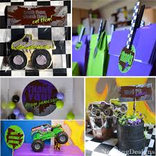 monster jam truck theme songs nestling monster truck party reveal party ideas pinterest
