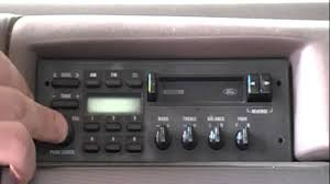 Old Ford Truck Dealers - this old ford 1992 f150 xlt clock radio setting the time