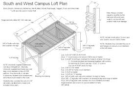 Loft Beds Plans Free Lowes by Lofts Ferris State University