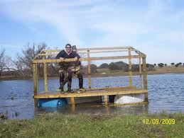 Floating Duck Blinds Photos Duck Blind Build Pic Heavy Texasbowhunter Com Community