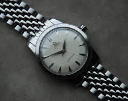 stainless steel bracelet omega watches images Sold waffle dial seamaster ref 2577 with cal 351 on nifty bor jpg