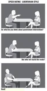 Speed Dating Meme - libertarian speed dating libertarianmeme