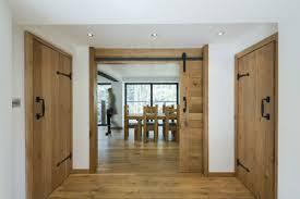 Dining Room Doors Appealing House Interior Using Rustic Wooden Indoor Doors Beside