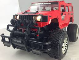 lifted jeep truck radio controlled car hummer jeep 4x4 monster truck with headlights