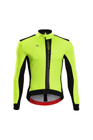 thermal cycling jacket monton reflective cycling jacket windproof hi viz fluorescent