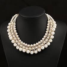 luxury necklace images Wholesale wholesale pearl necklace 45cm luxury beaded wedding jpg