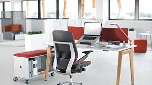 steelcase bureau bureau b free table de travail steelcase