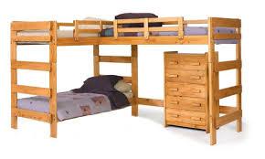 Viv Rae Deondre LShaped Bunk Bed  Reviews Wayfair - L shape bunk bed