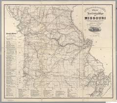 Chicago County Map With Cities by St Louis Public Library Maps Of Missouri