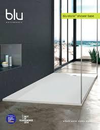 blu bathworks blu stone shower base blu bathworks pdf blu bathworks blu stone shower base 1 11 pages