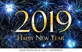 Happy New Year 2019 Stock Illustration 419164615  Shutterstock