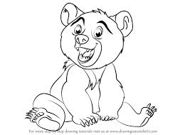 learn draw koda brother bear brother bear step