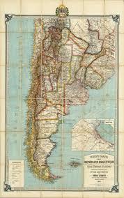 Old Map South America by Nuevo Mapa De La Republica Argentina 1914 Jpg 4719 7535