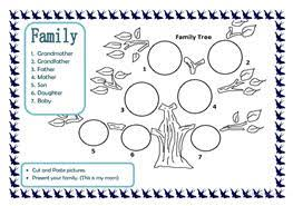 11 free esl the family tree worksheets
