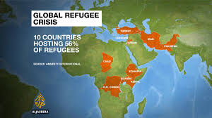 Jordan Country Map Ten Countries Host Half Of World U0027s Refugees Report News From Al