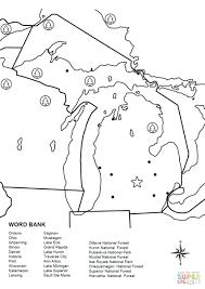 world map coloring page for kindergarten preschoolers pdf world