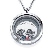 children s lockets floating locket for with children charms mynamenecklace