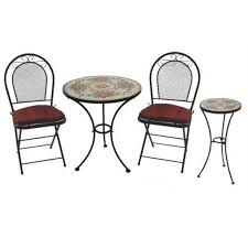 Wrought Iron Commercial Bistro Chair Gorgeous Iron Bistro Table Set Wrought Iron 3 Piece Bistro Table