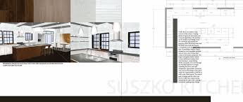 interior design portfolio template powerpoint student examples