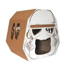 Cardboard Cat Scratcher House Starwars Imperial Stormtrooper Cardboard Cat House Cat Furniture