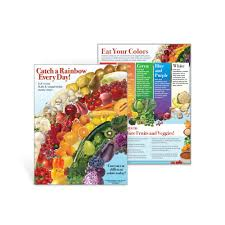 fruits u0026 vegetables color your plate dvd