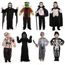 kids mummy halloween fancy dress monster costume child trick or