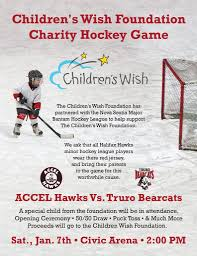 accel hawks charity hockey game accel physiotherapy u0026 sport