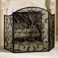 small fireplace screen binhminh decoration