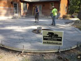 Cost Of Concrete Patio by Walkers Concrete Llc Stamped Concrete Patio Stamped Concrete Or