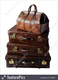 suitcases vintage leather suitcases picture