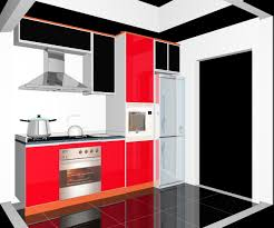 Modern Kitchen For Small Condo One Kitchen Cabinet Simple One Wall Kitchen Cabinet Design
