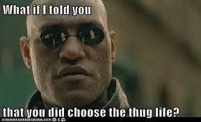 Life Meme - 20 best i didn t choose the thug life memes smosh