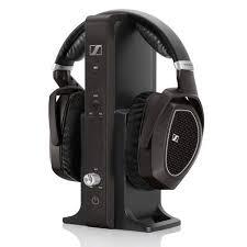 black friday headphones sennheiser sennheiser rs185 oe rf stereo home audio wireless headphone system