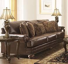 Durablend Leather Sofa Amazon Com Chaling Durablend Antique Color Traditional Classics