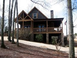 2 Bedroom Log Cabin Floor Plans 2 Bedroom Cabin Plan With Covered Porch Little River Cabin