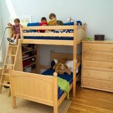 Bunk Beds Twin Over Full With Desk Twin Over Full Bunk Bed With Staircase Foter