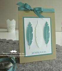 577 best four feathers cards stampin up set images on pinterest