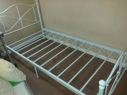 single white argos metal bed frame in sheffield south yorkshire