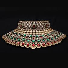 wedding necklace photos images Grand wedding necklace set by sanskruti necklace sets shopcj jpg