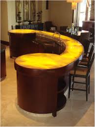 interior incredible bar table for a contemporary kitchen design