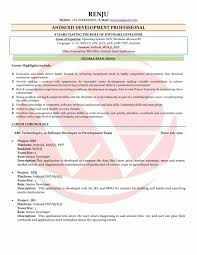 resume format exles documentation of android senior web applications developer sle job description resume