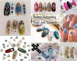 nail art charms charm 3d nails decal nail polish design gel gold