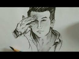 prince narula pencil sketch draw only for fans youtube
